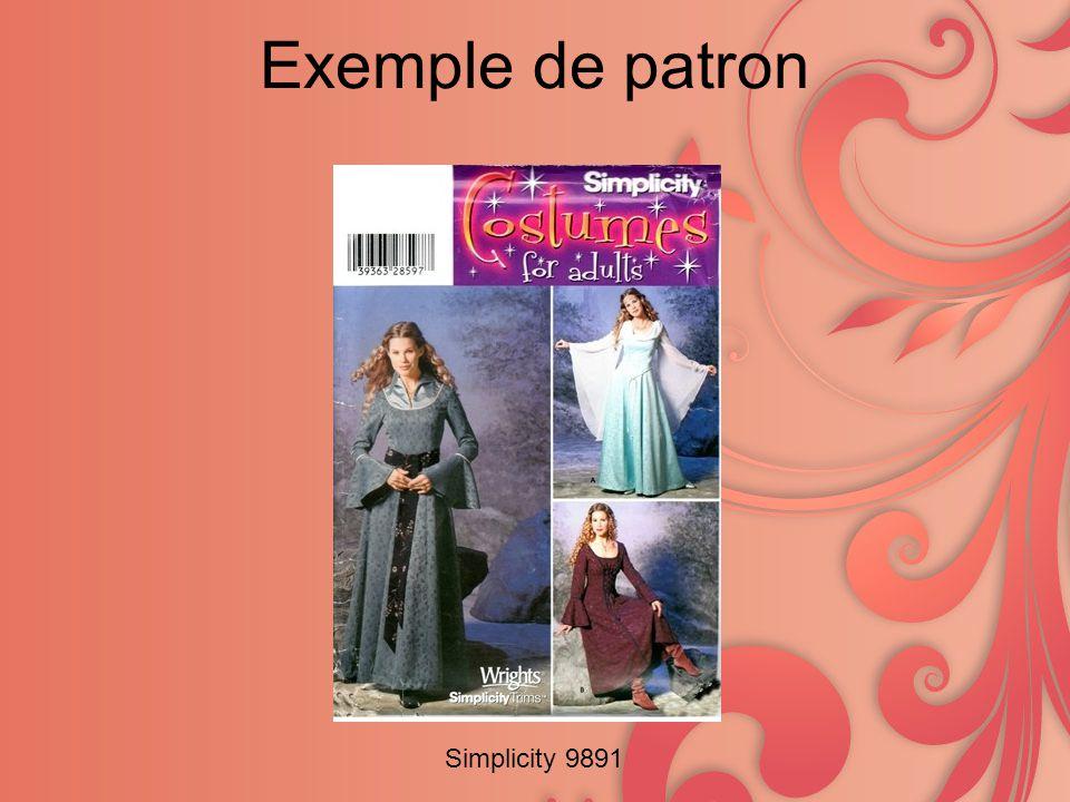 Exemple de patron Simplicity 9891