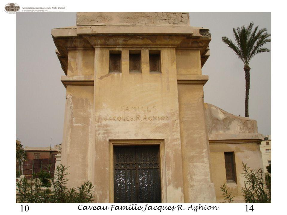 Caveau Famille Jacques R. Aghion 1410