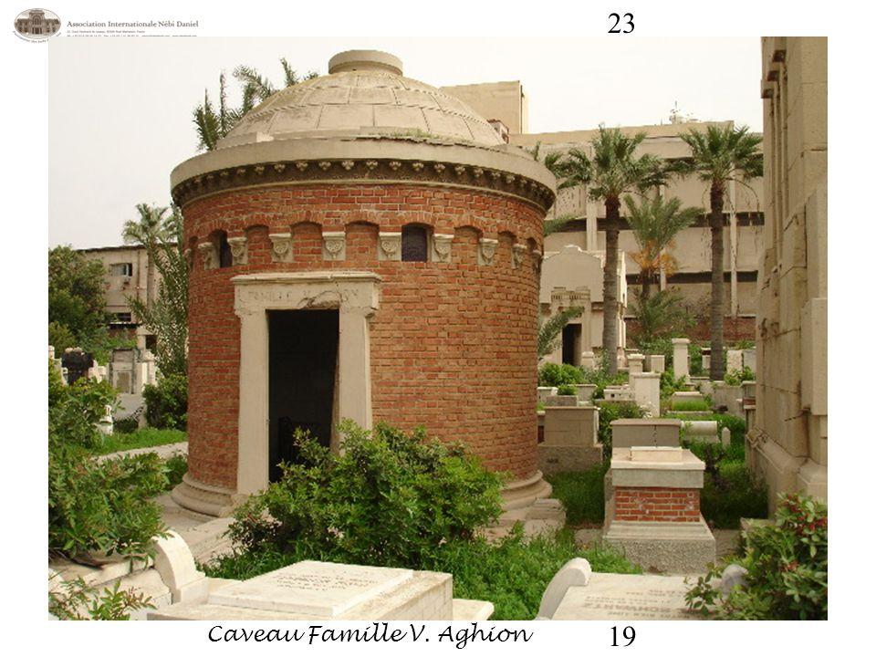 Caveau Famille V. Aghion 19 23