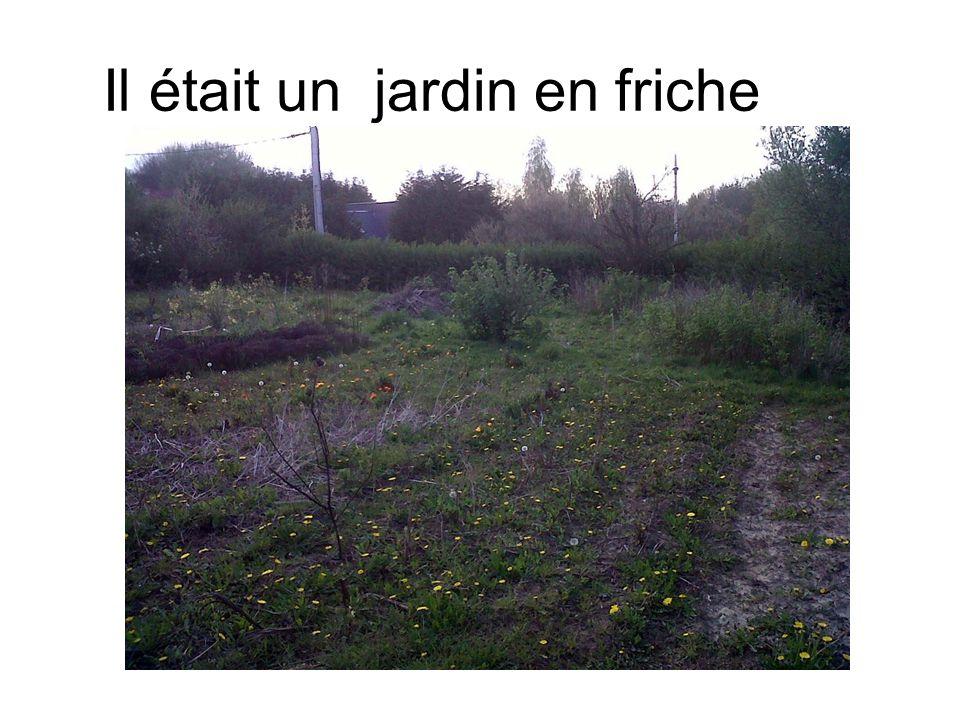Il était un jardin en friche