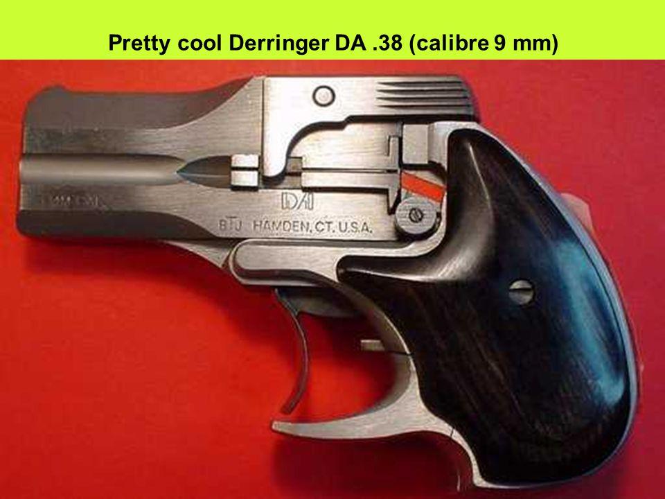 Pretty cool Derringer DA.38 (calibre 9 mm)