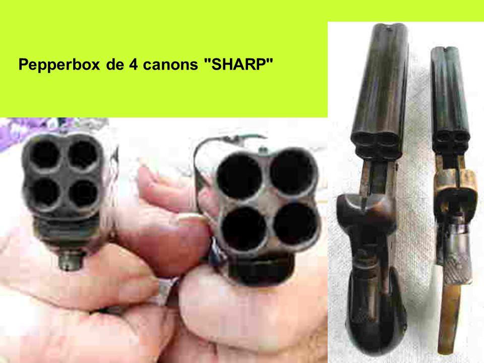 Pepperbox de 4 canons