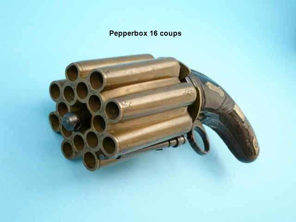 Pepperbox 16 coups