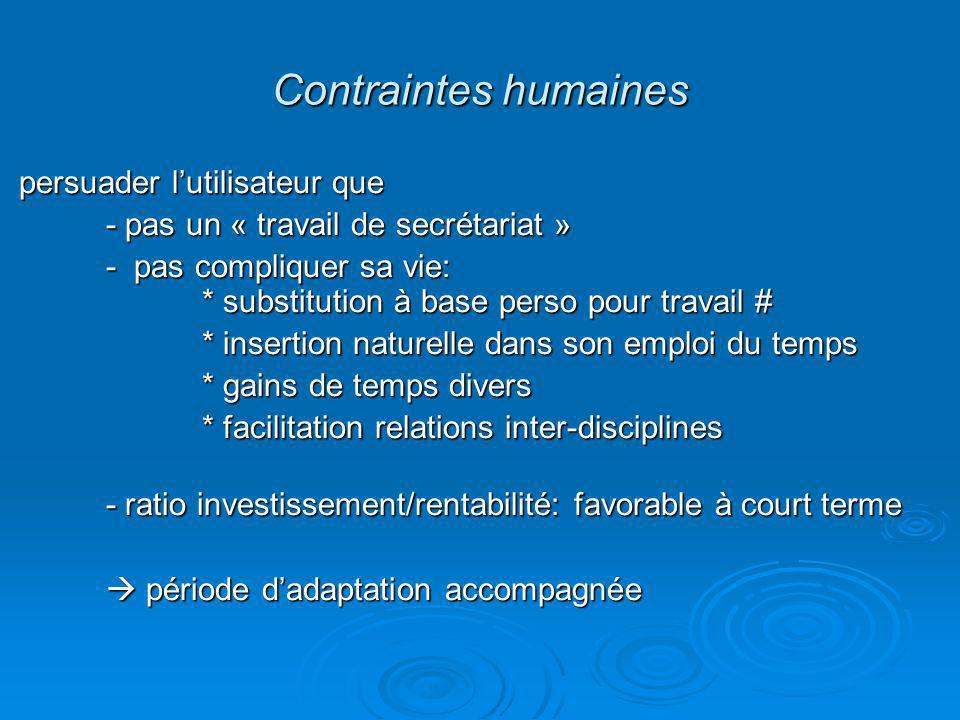 Adapter BDD aux impératifs humains: quelle durée raisonnable par dossier .
