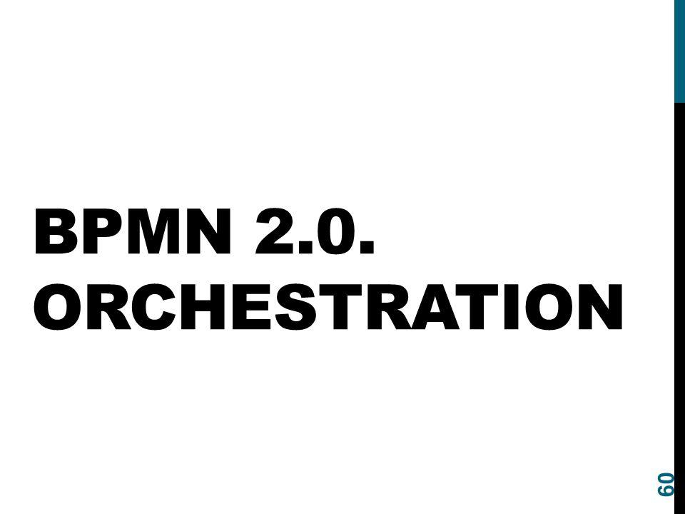 BPMN 2.0. ORCHESTRATION 60