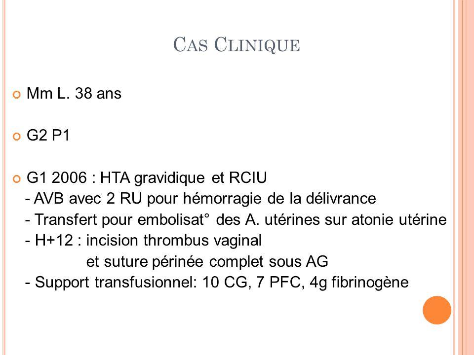 G2 2013 Hospitalisation 27 sem et 31 sem pour métrorragies sur placenta praevia recouvrant postérieur : cure de célestène et tocolytiques Décision de césarienne à 35 sem + 3j C AS C LINIQUE