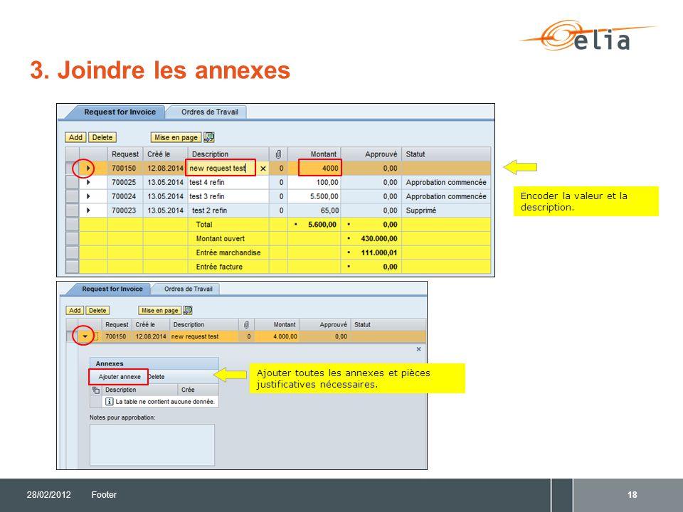3.Sauvegarder le Request 28/02/2012Footer19 Cliquez sur Sauvegarder .