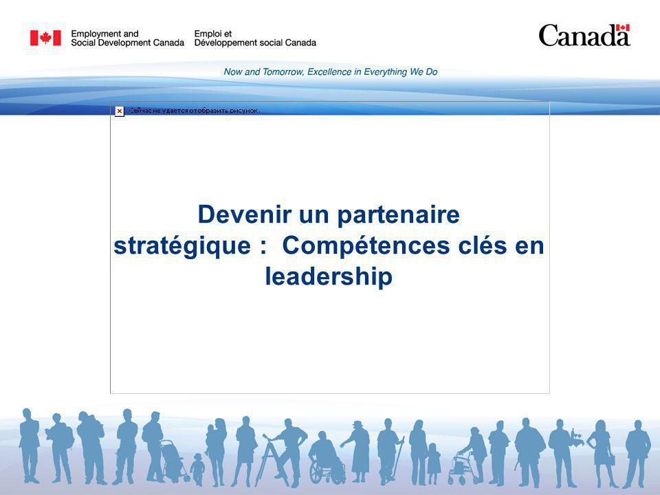 Devenir un partenaire stratégique : Compétences clés en leadership