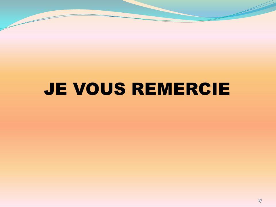 JE VOUS REMERCIE 17