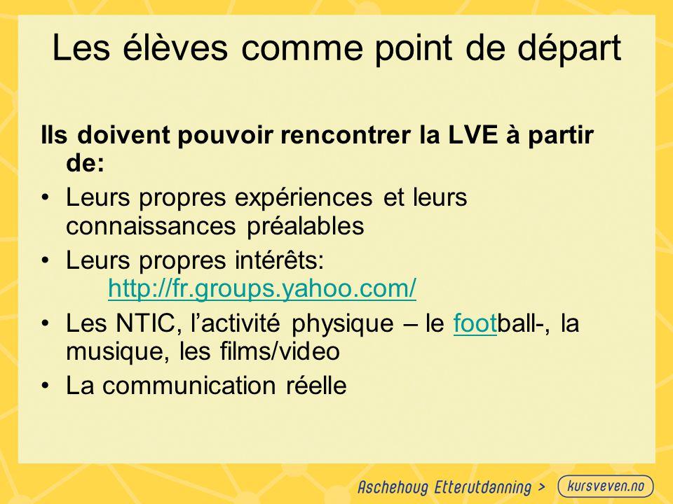Présentation d'un point nouveau Approche traditionnelle: Présentation – exercices – activités communicatives Approche pratique : ON FAIT LE CONTRAIRE !