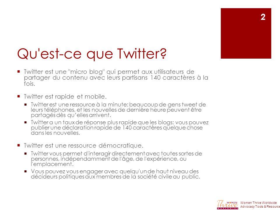 Qu est-ce que Twitter.