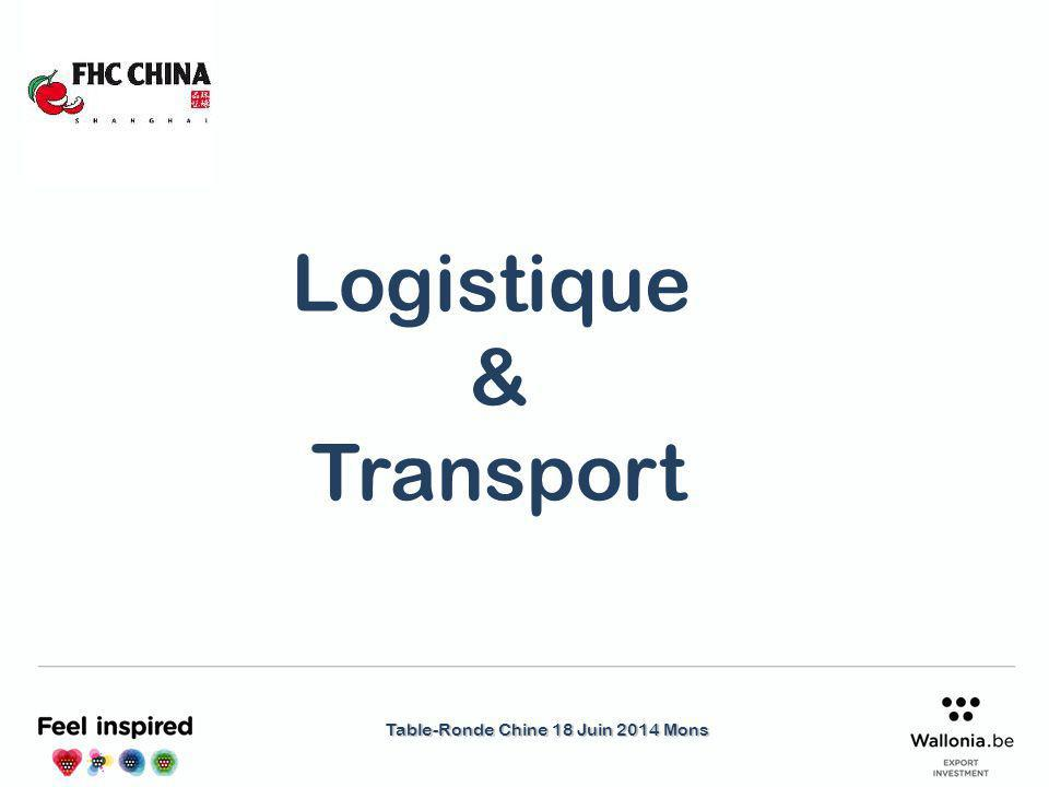 Table-Ronde Chine 18 Juin 2014 Mons Logistique & Transport