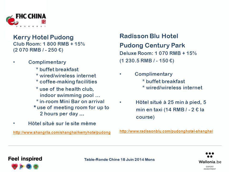 Table-Ronde Chine 18 Juin 2014 Mons Logistique & Transport