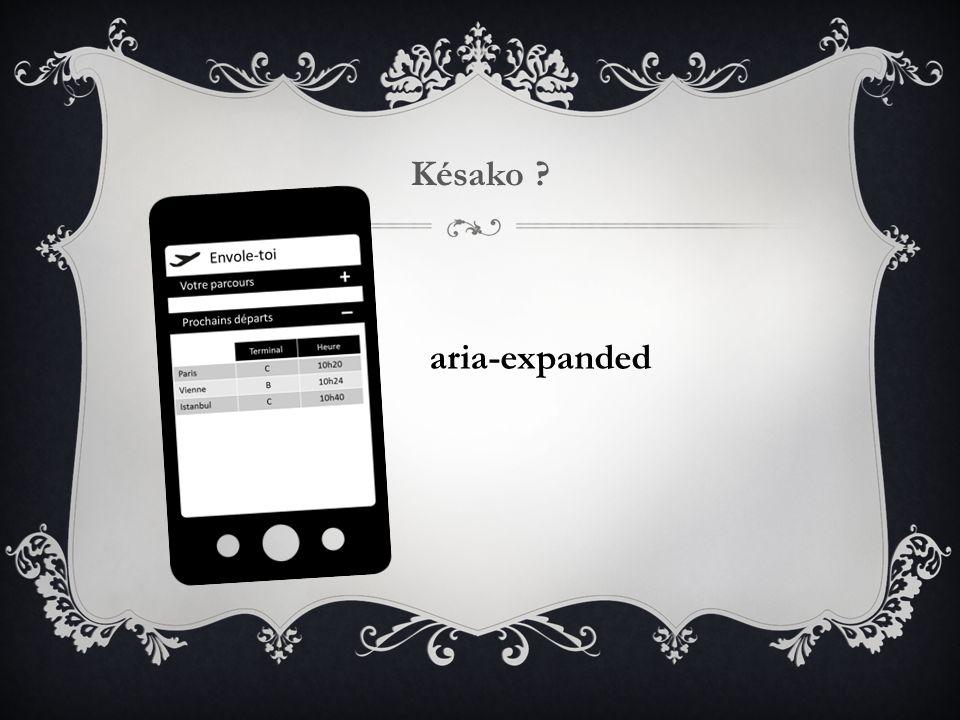 Késako ? aria-expanded