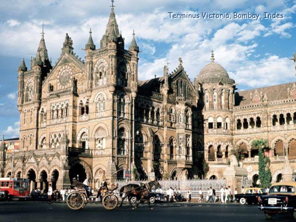 Terminus Victoria, Bombay, Indes