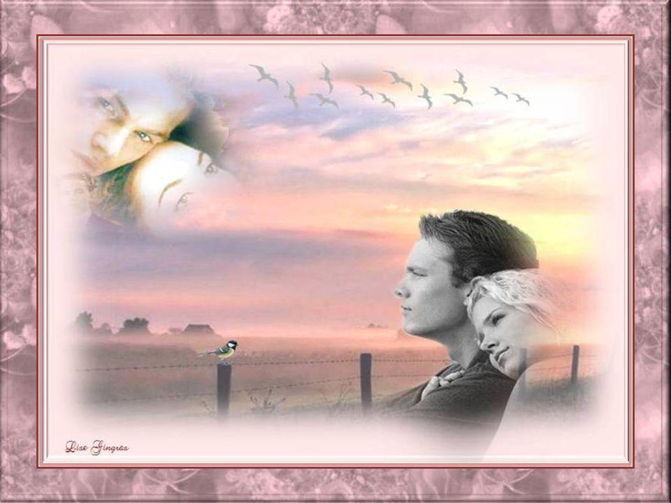 Sois de ceux qui ont le regard grand, Des yeux qui regardent droit devant; Sois un parfum de rose en tout temps, Une source de joie comme le printemps