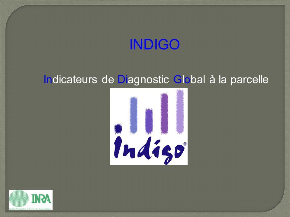INDIGO Indicateurs de Diagnostic Global à la parcelle
