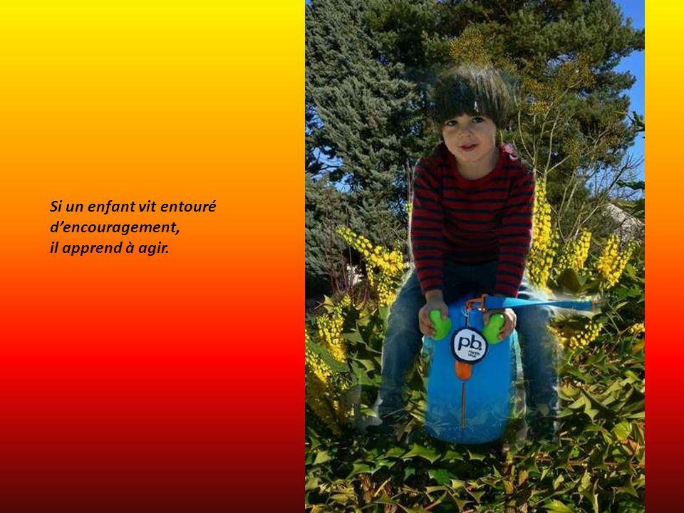Si un enfant vit entouré de honte, il apprend à se sentir coupable.