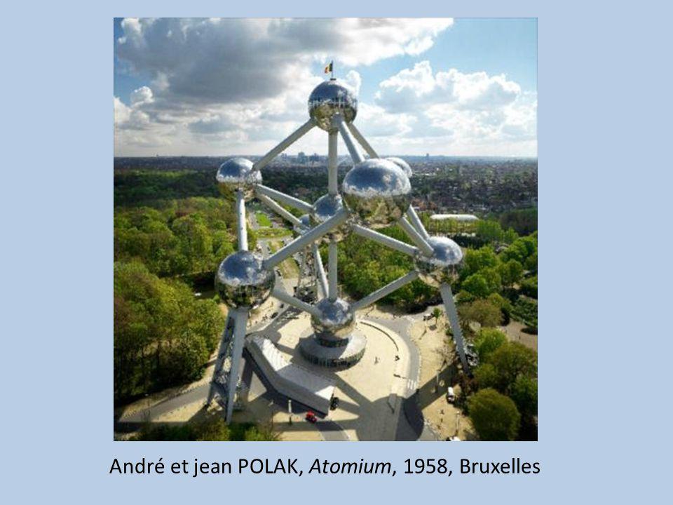 André et jean POLAK, Atomium, 1958, Bruxelles
