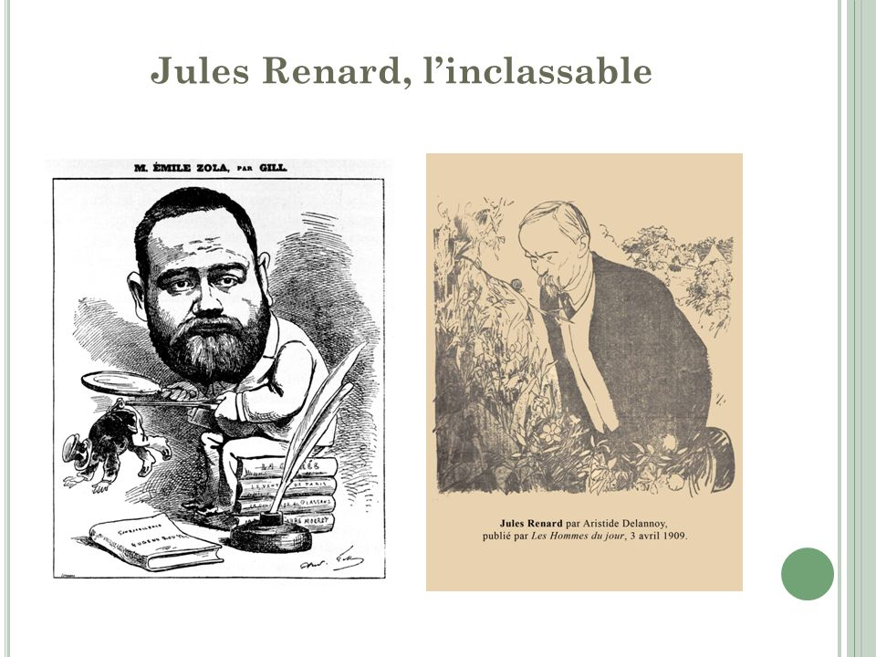 Jules Renard, l'inclassable