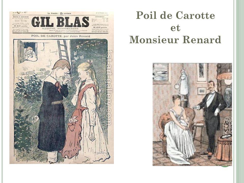 Poil de Carotte et Monsieur Renard