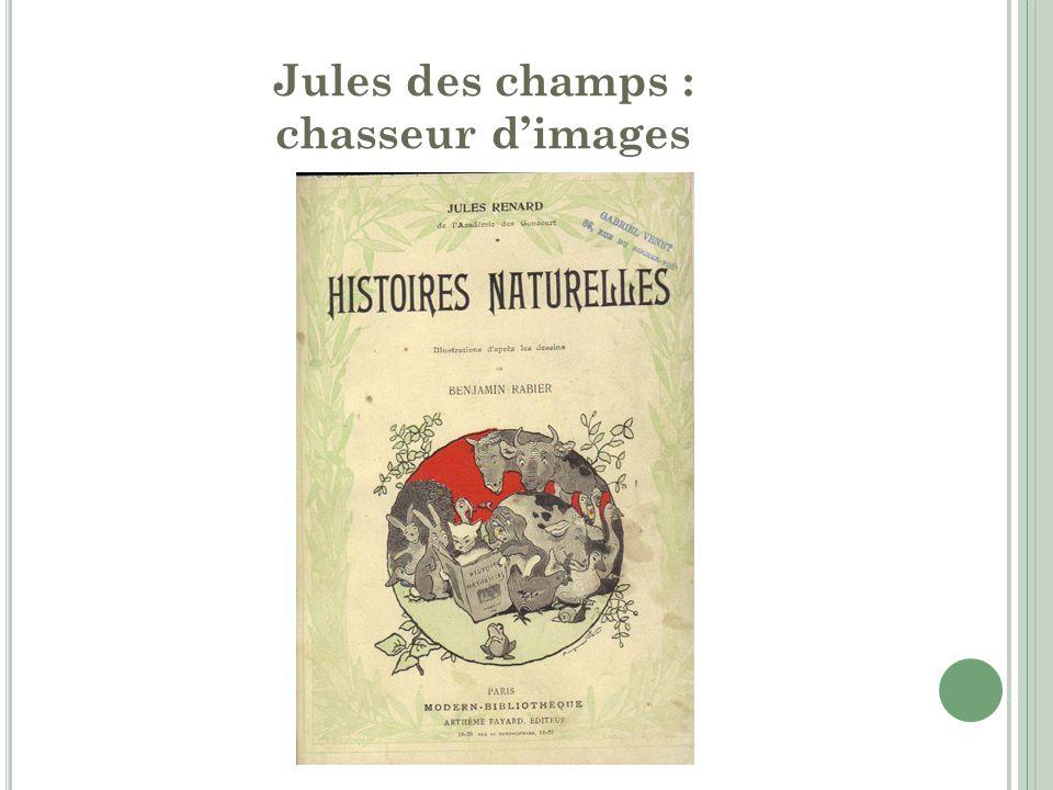Jules des champs : chasseur d'images