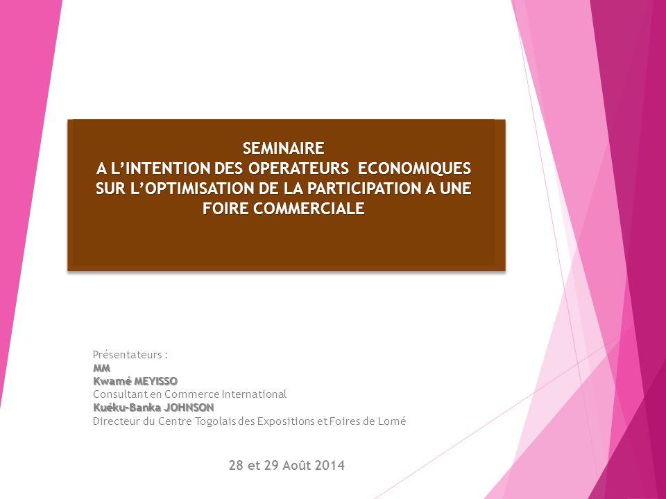 MERCI POUR VOTRE ATTENTION PENDANT CES DEUX JOURS Séminaire de formation du 28 et 29 Août 2014
