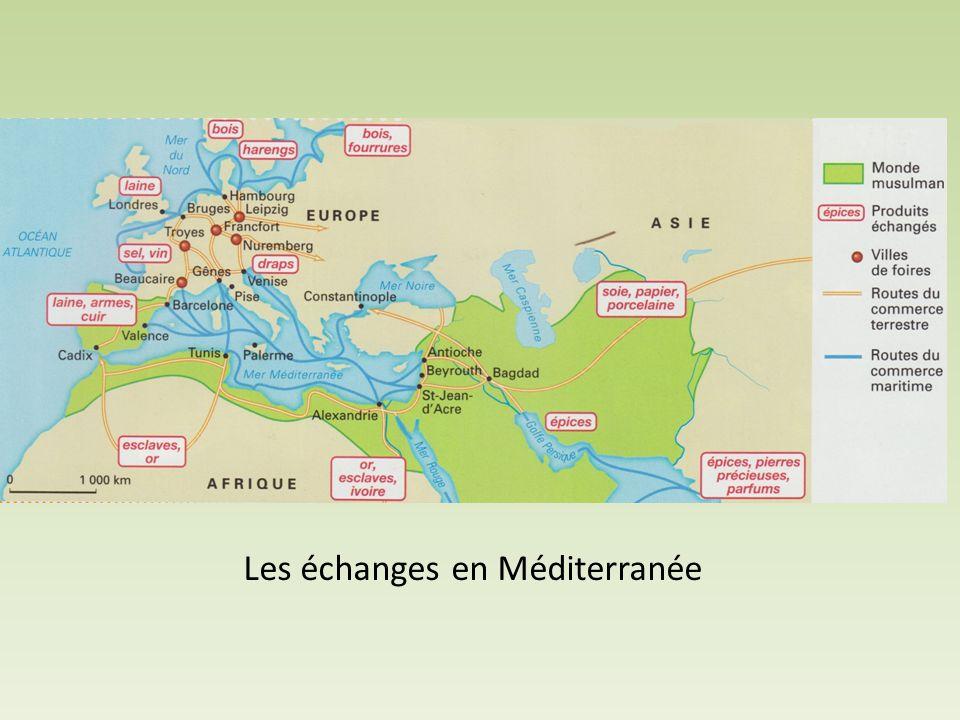 Les échanges en Méditerranée