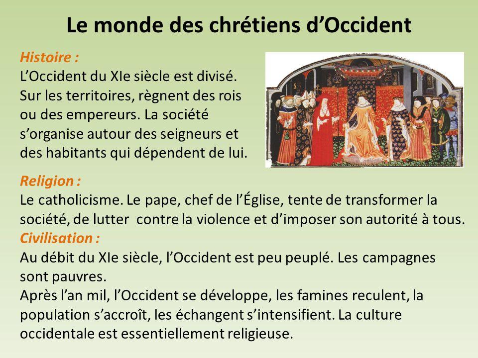 Histoire : L'Occident du XIe siècle est divisé.
