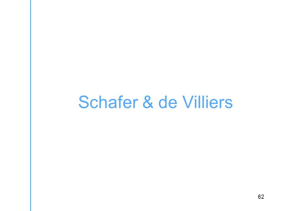 62 Schafer & de Villiers