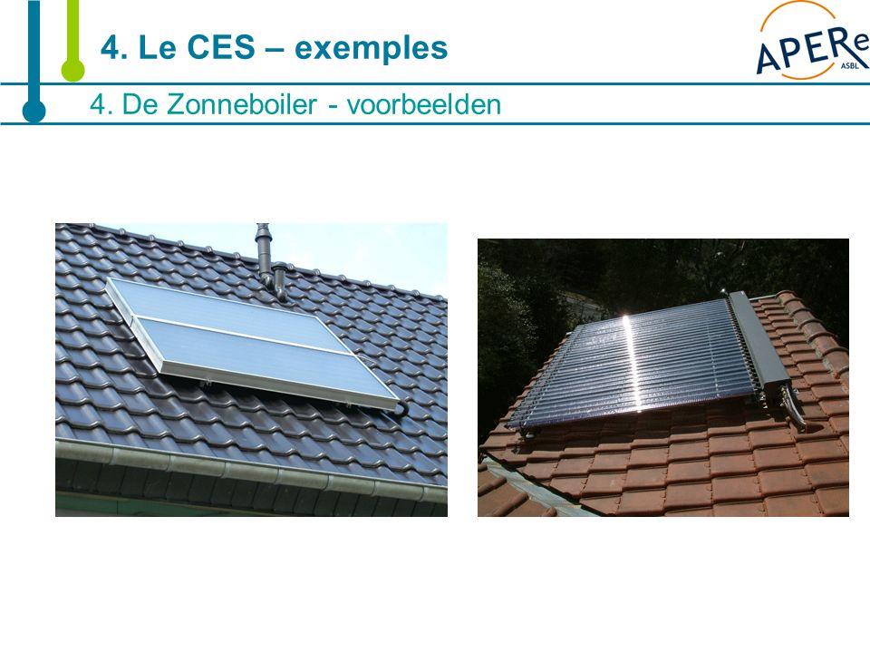 16 4. De Zonneboiler - voorbeelden 4. Le CES – exemples