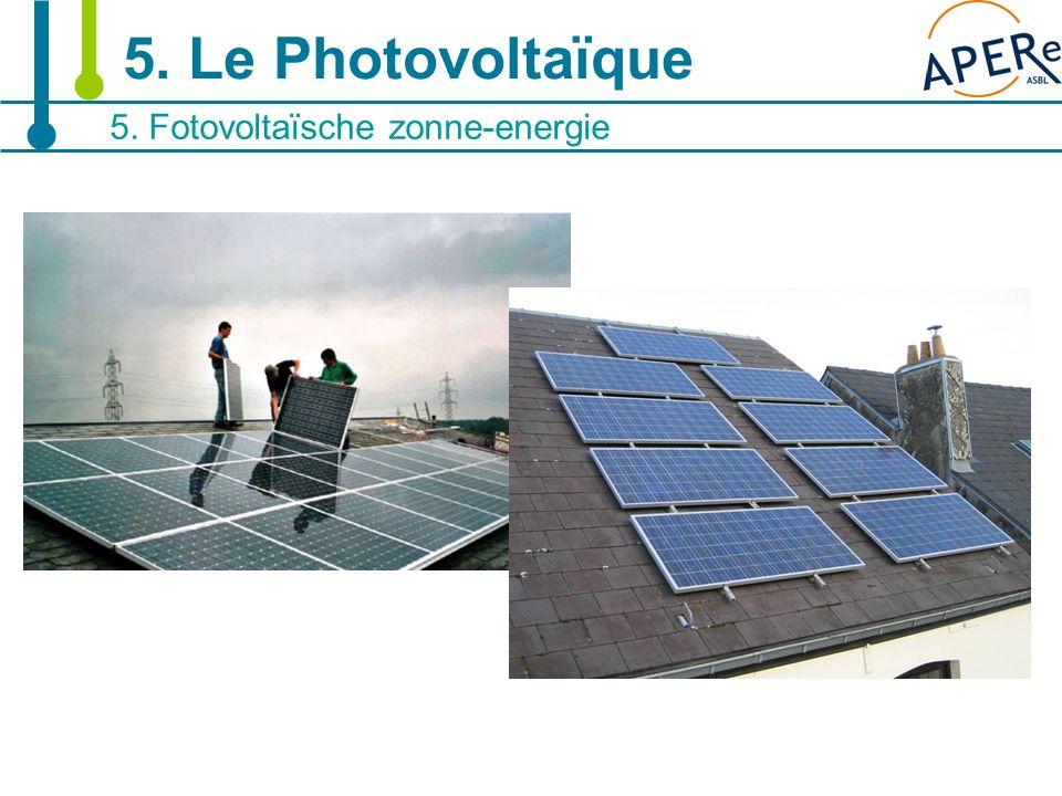 20 5. Fotovoltaïsche zonne-energie 5. Le Photovoltaïque