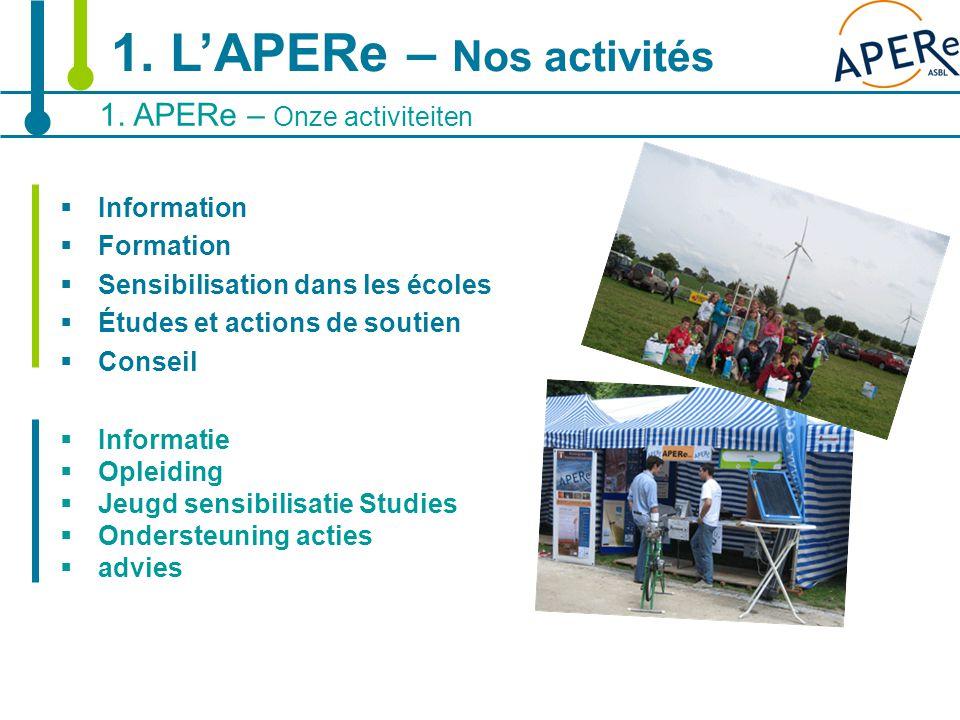 5  Information  Formation  Sensibilisation dans les écoles  Études et actions de soutien  Conseil  Informatie  Opleiding  Jeugd sensibilisatie