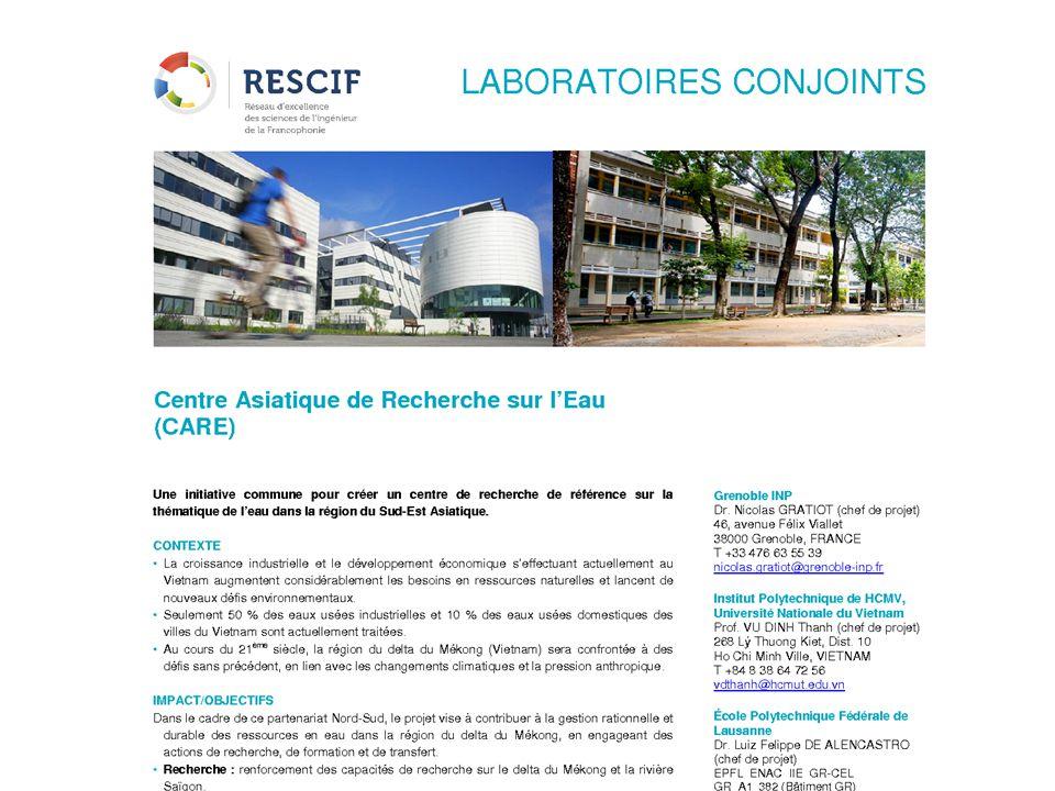 Co-leaders: G.Leclerc, L. Lefevre, F.