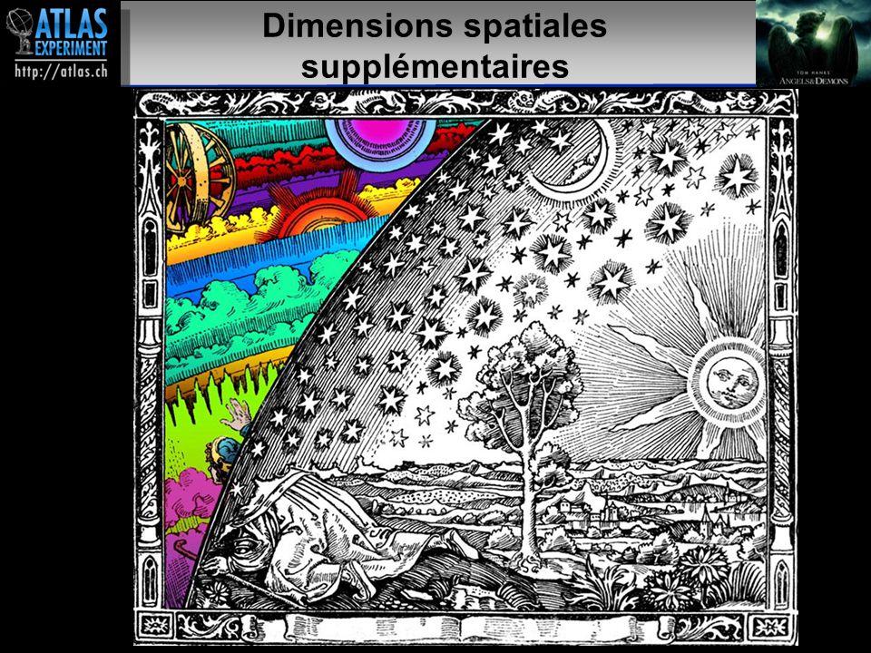 Présentateur – Mai 2009 32 Dimensions spatiales supplémentaires