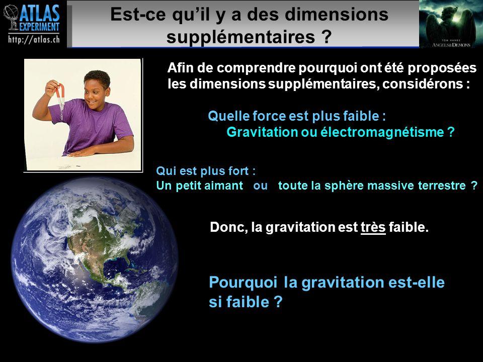 Présentateur – Mai 2009 33 Est-ce qu'il y a des dimensions supplémentaires .