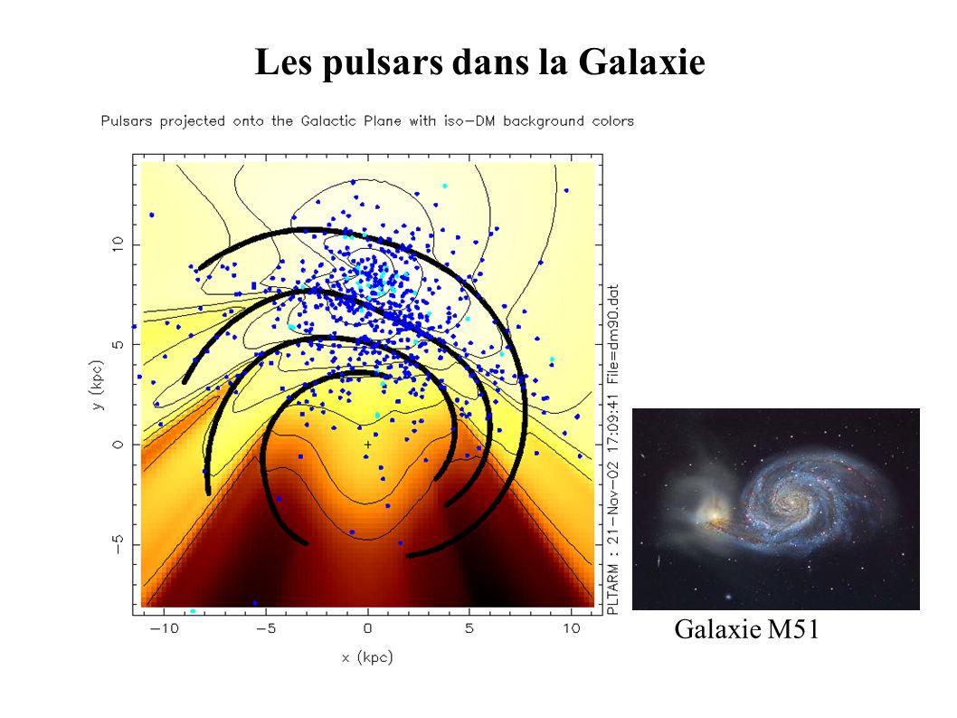 Galaxie M51 Les pulsars dans la Galaxie