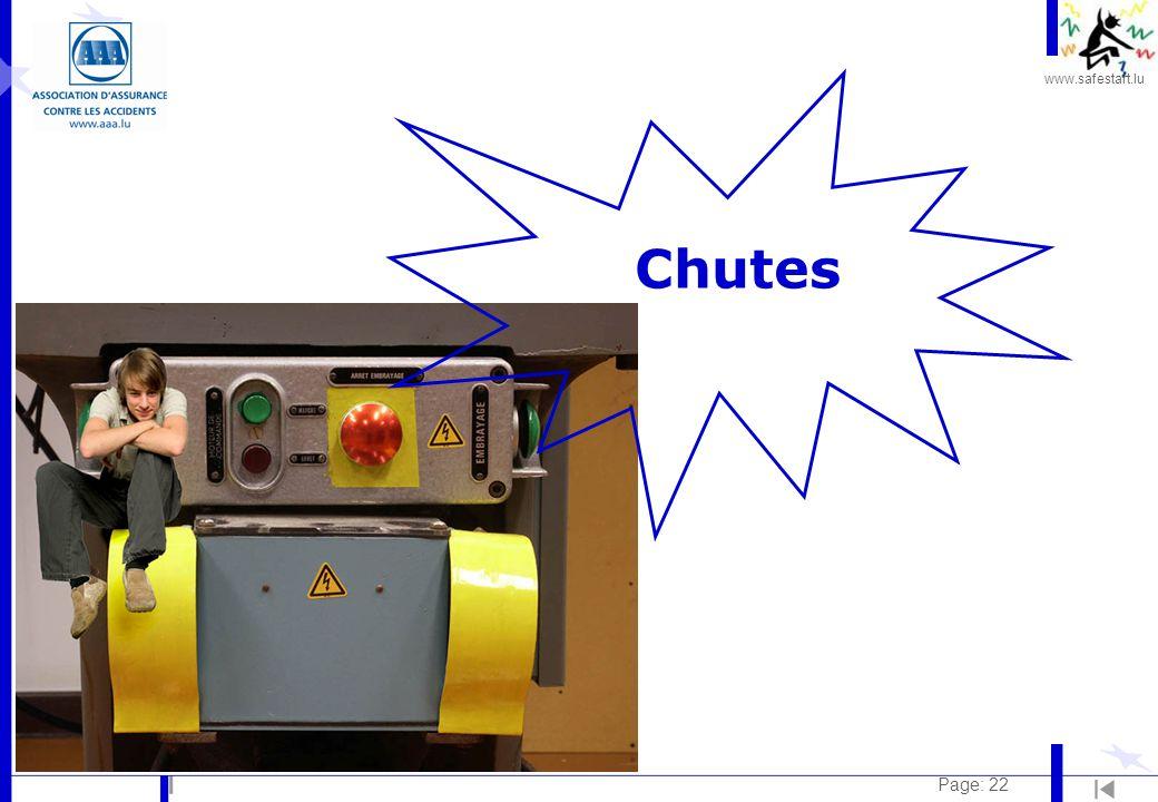 www.safestart.lu Page: 22 Chutes
