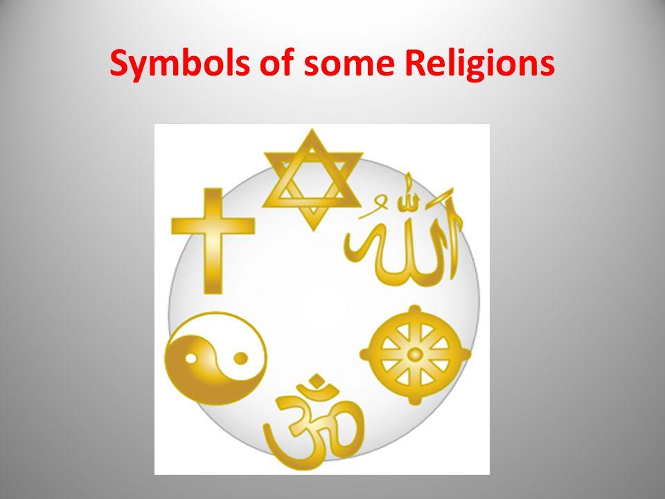 Symbols of some Religions