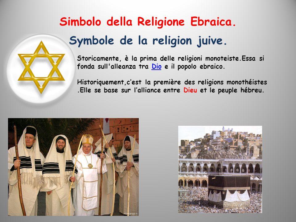 Simbolo della Religione Ebraica.