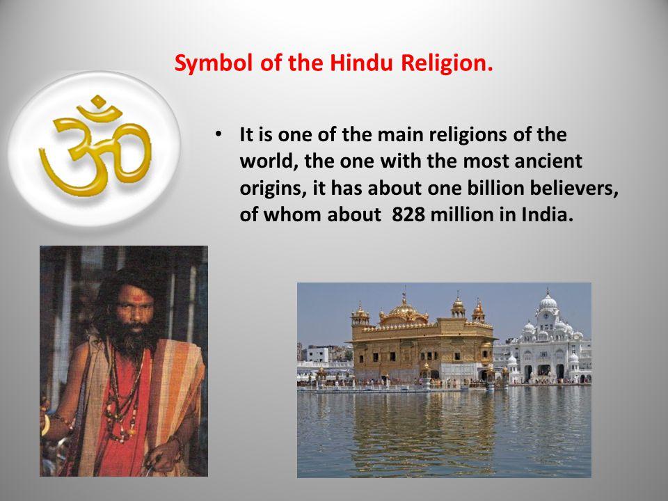 Symbol of the Hindu Religion.