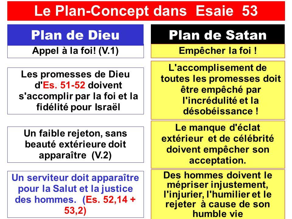 SFR742 www.hopeandmore.at Plan de DieuPlan de Satan Un serviteur doit apparaître pour la Salut et la justice des hommes. (Es. 52,14 + 53,2) Appel à la