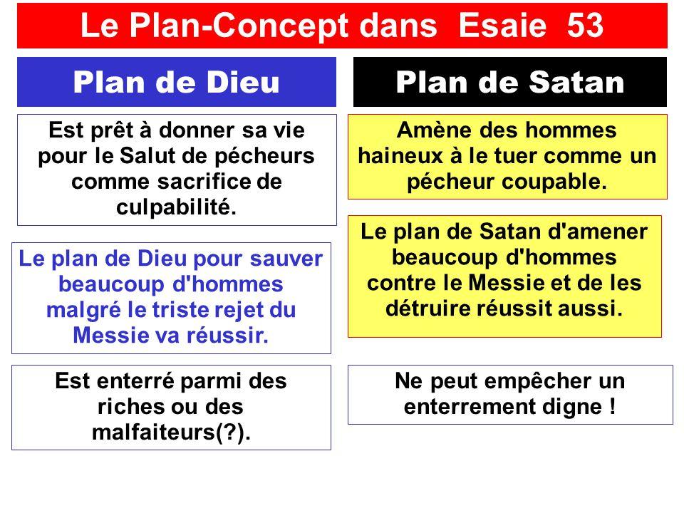 SFR742 www.hopeandmore.at Plan de DieuPlan de Satan Amène des hommes haineux à le tuer comme un pécheur coupable. Est prêt à donner sa vie pour le Sal