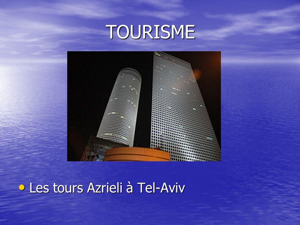 TOURISME Les tours Azrieli à Tel-Aviv Les tours Azrieli à Tel-Aviv