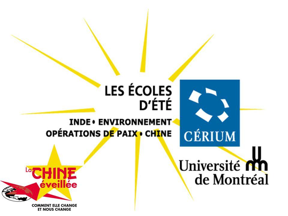 Modes et tendances culturelles en Chine Claire Huot CÉRIUM 14 juillet 2007