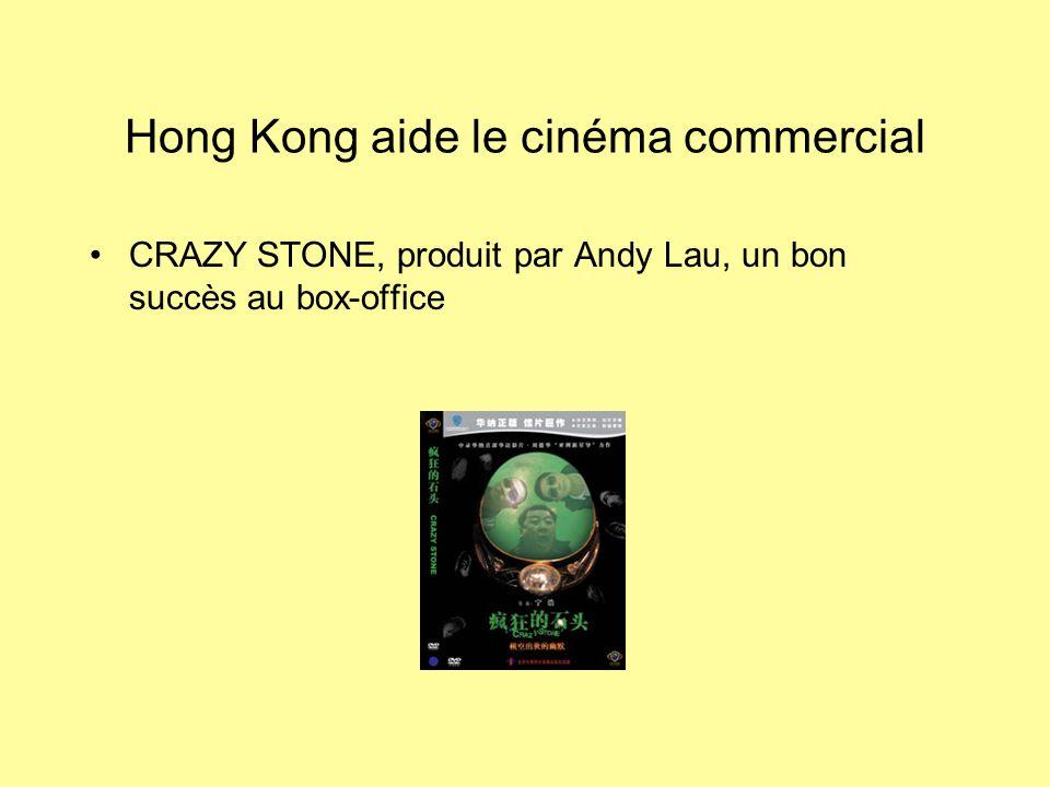 Hong Kong aide le cinéma commercial CRAZY STONE, produit par Andy Lau, un bon succès au box-office