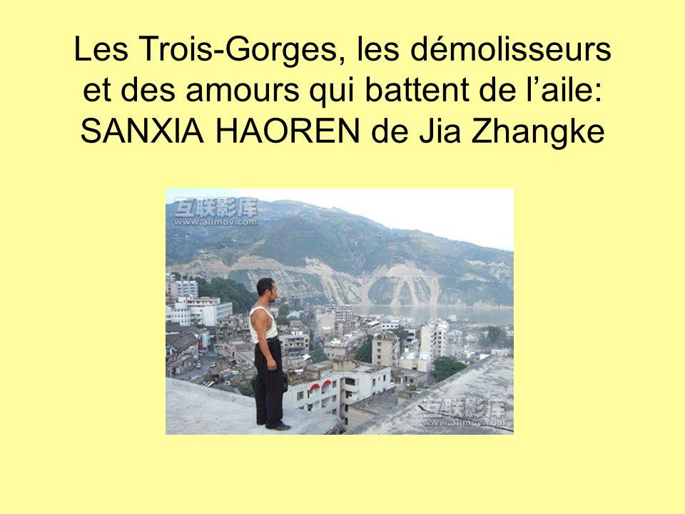 Les Trois-Gorges, les démolisseurs et des amours qui battent de l'aile: SANXIA HAOREN de Jia Zhangke