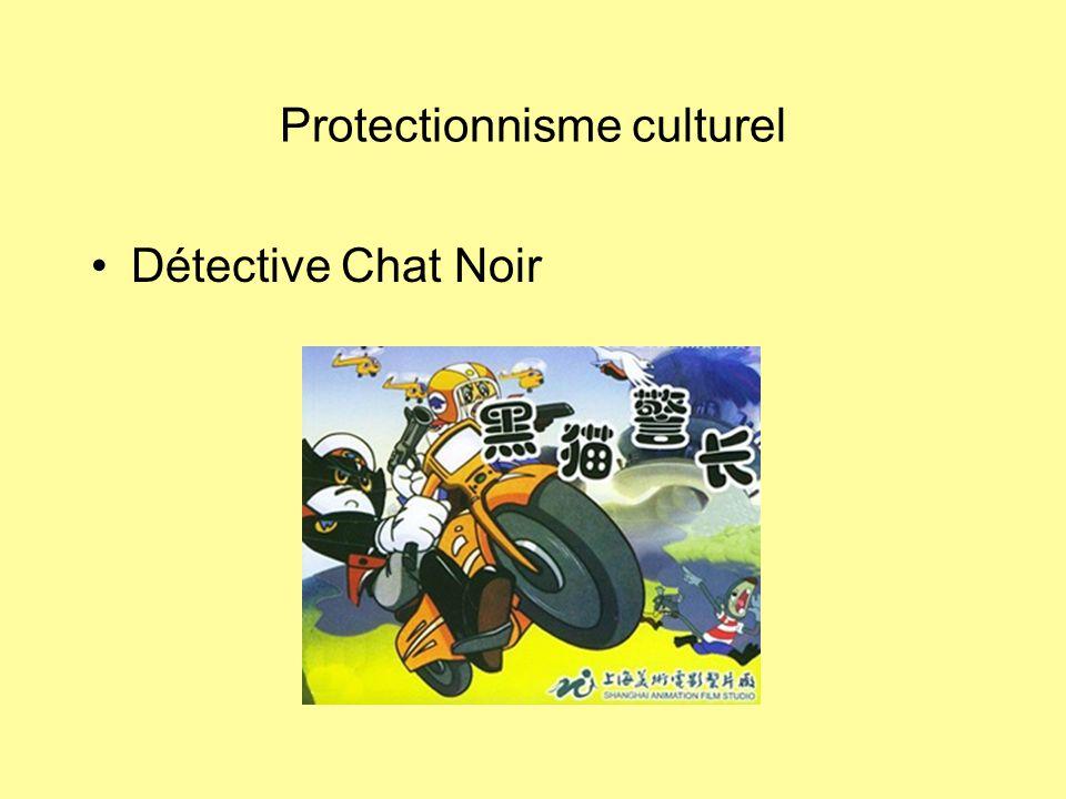 Protectionnisme culturel Détective Chat Noir