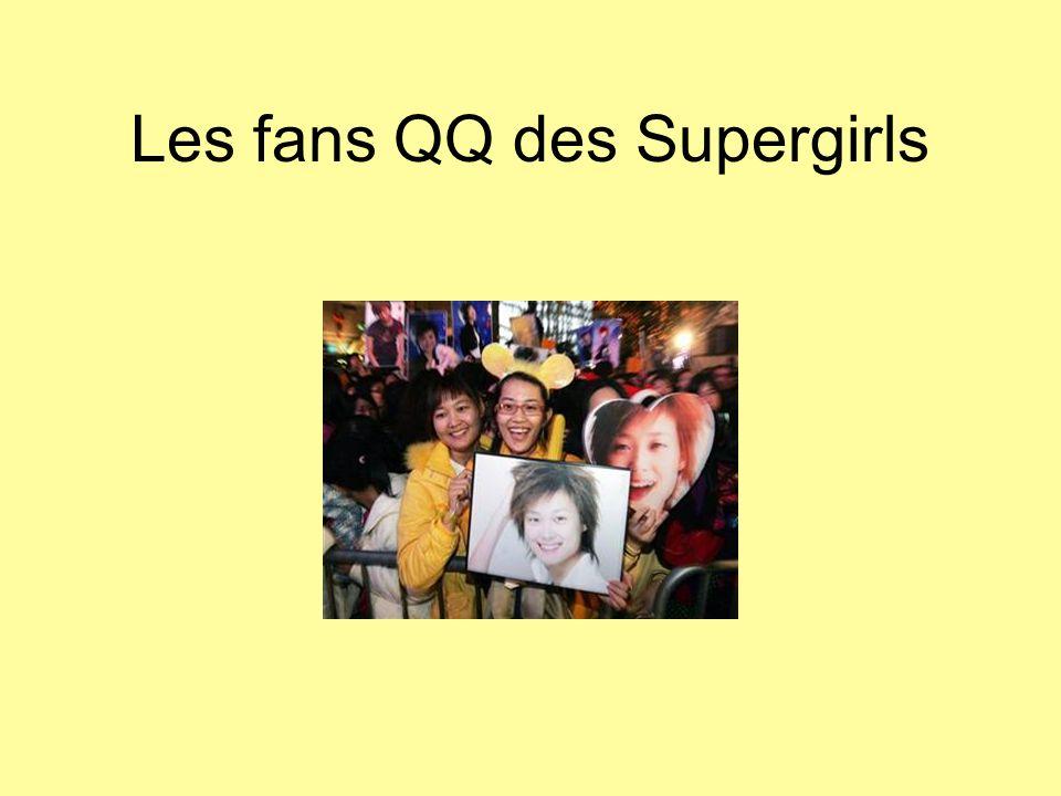 Les fans QQ des Supergirls