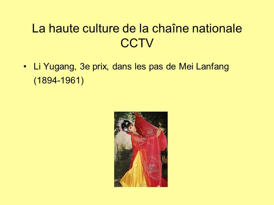 La haute culture de la chaîne nationale CCTV Li Yugang, 3e prix, dans les pas de Mei Lanfang (1894-1961)